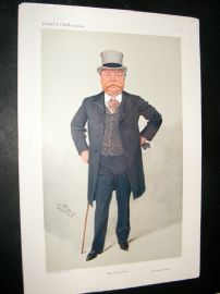 Vanity Fair Print 1908 Sir Christopher Furness